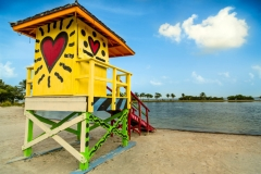 Homestead-Bayfront-Park-Beach-Britto-Lifeguard-Tower