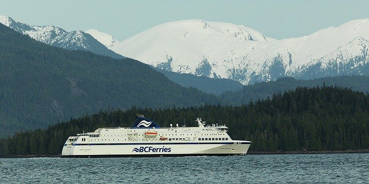 BC Ferries Cruising Inside Passage Wilderness. British Columbia (c) BC Ferries