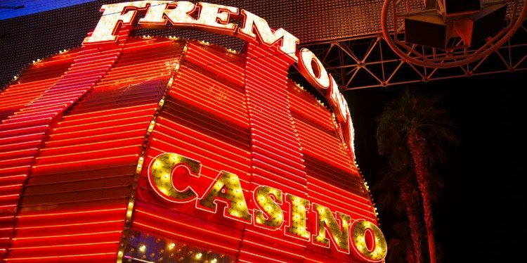 Fremont Casino Sign, Las Vegas, Nevada