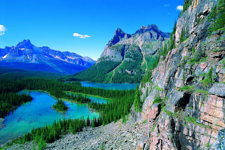 Canadas Cities and Glaciers