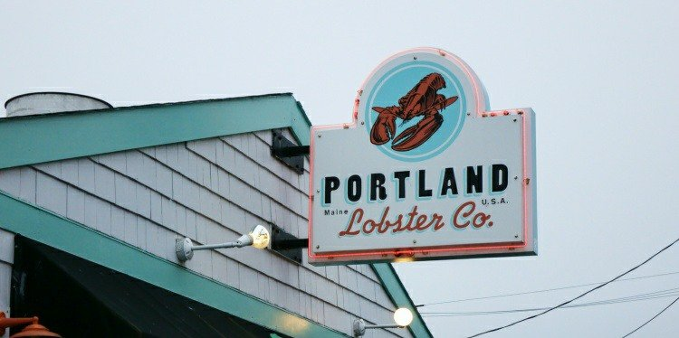 Portland Lobster Co, Maine