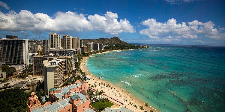 Leahi and Waikiki Beach, Oahu, Hawaii