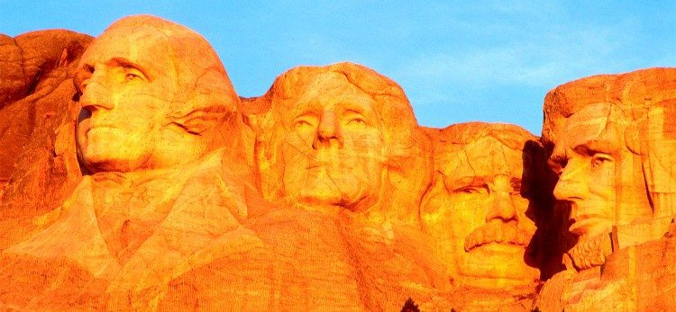 Mount Rushmore Sunset, South Dakota