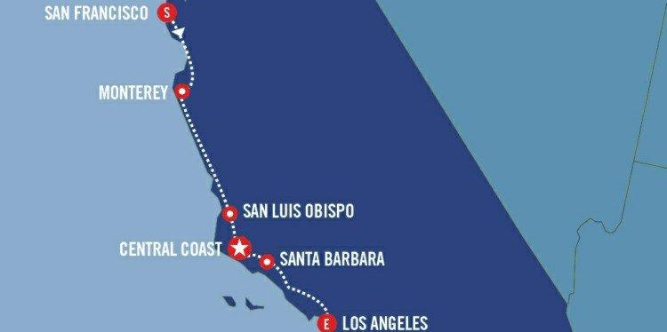 California Explorer Map