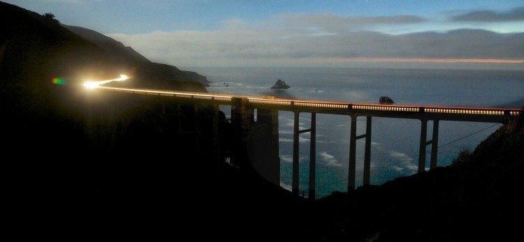 Bixby Bridge at Dusk, Monterey, California
