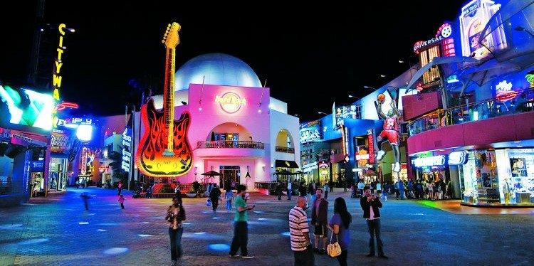 Universal Studios City Walk, Los Angeles (c) Travis Conklin