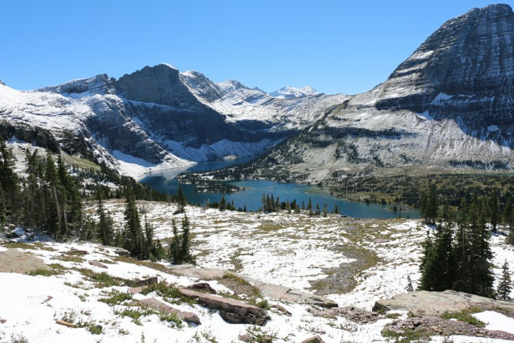 Empire Builder & Glacier National Park
