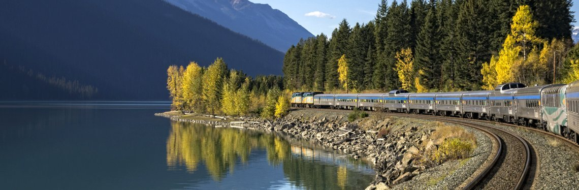 Across Canada by Train