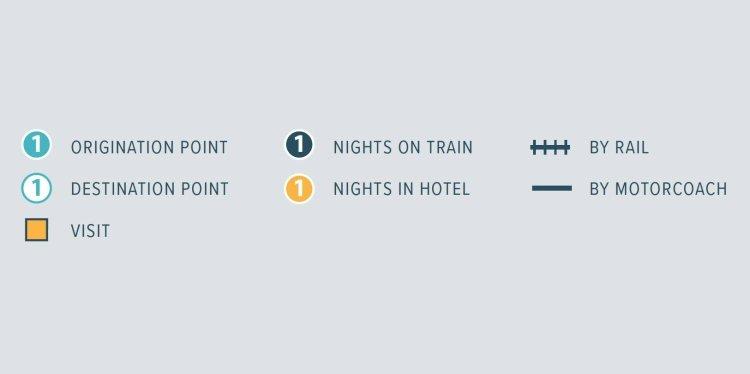 Rail Tours - Canada Key