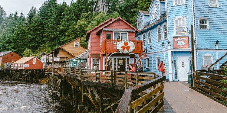 Ketchikan Creek Street, Alaska (c) Daniel Volland