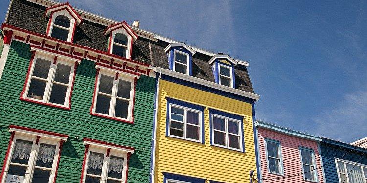 St Johns Architecture, Newfoundland & Labrador