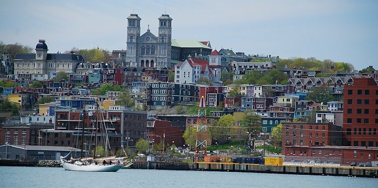 St John's Cityscape, Newfoundland & Labrador