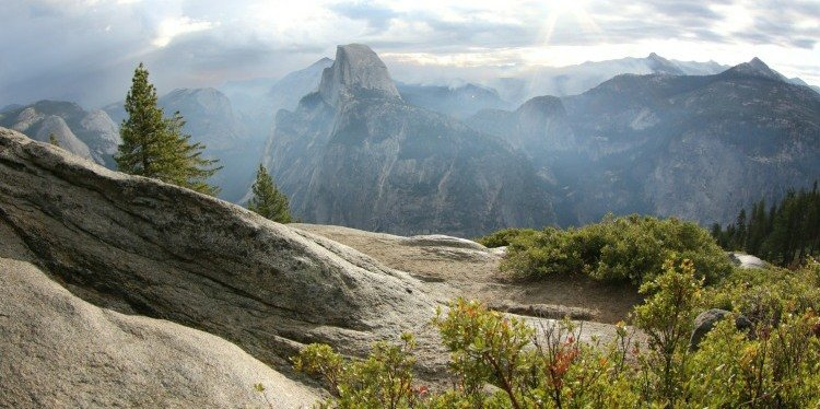 Yosemite National Park Overlook, California