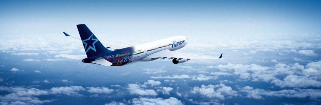 Air Transat In Flight