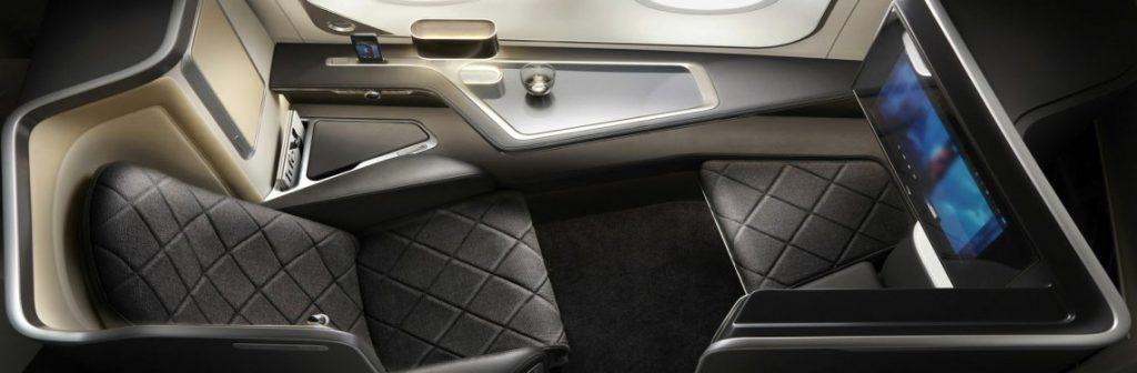 British Airways A380 First Class Seat