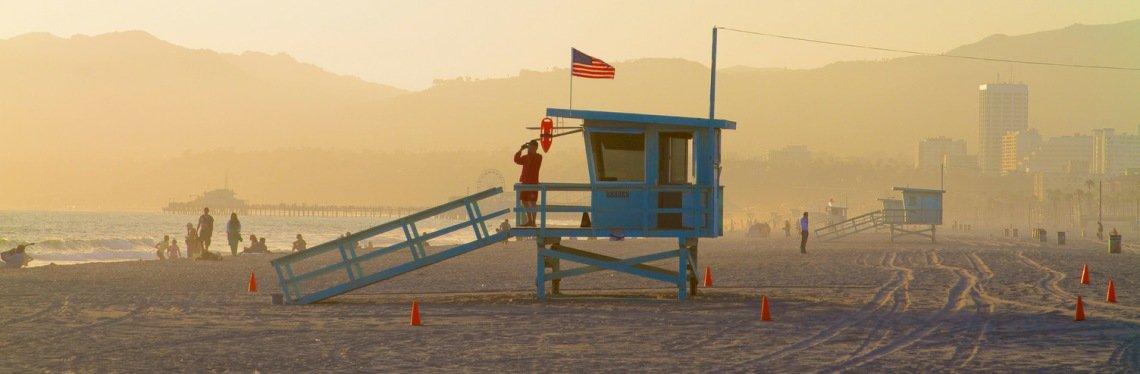 Life Station, Los Angeles Coast, California