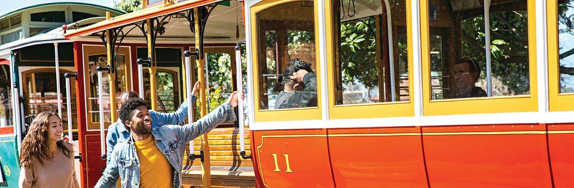 Market Street Railway Tram, San Francisco, California
