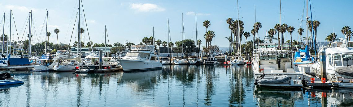 Redondo Beach, Yachts, California