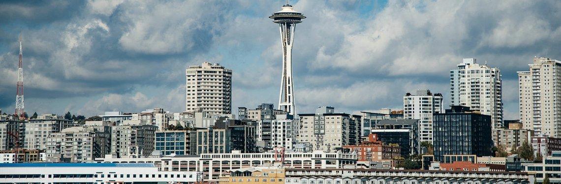 Space Needle, Skyline Seattle, Washington State