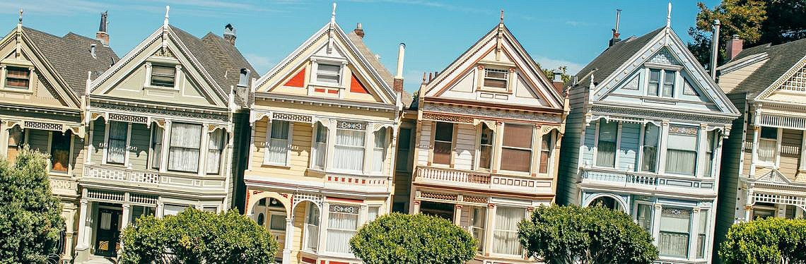 Victorian Heritage Homes, San Francisco, California