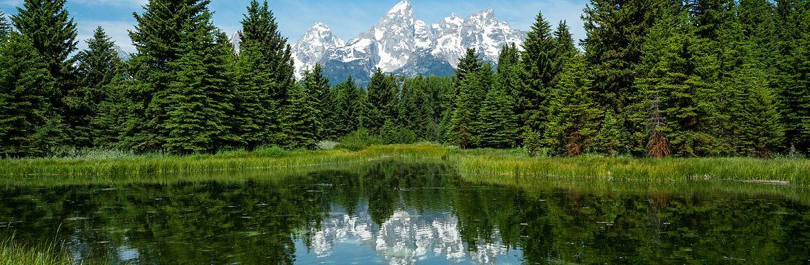 Vista Grand Teton, Wyoming